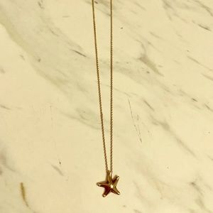 Tiffany's starfish necklace